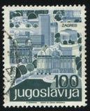 Stadt von Zagreb Lizenzfreie Stockfotos