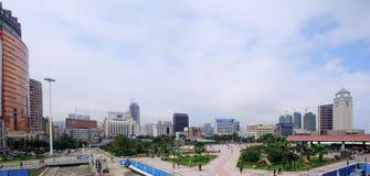 Stadt von Zhuhai, China Lizenzfreies Stockbild