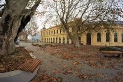Stadt Vukovar stockbild