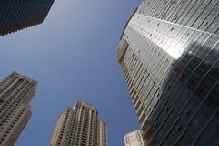 Stadt-Wolkenkratzer Stockfotografie