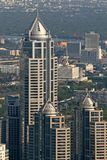 Stadt-Wolkenkratzer stockbild