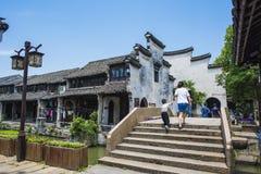 Stadt Zhejiangs Huzhou Nanxun Stockfotos