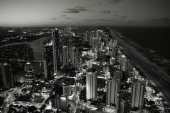 Stadtabend Stockbilder