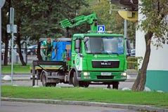 Stadtabschleppwagen Stockfotos