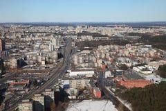 Stadtansicht Stockfotografie