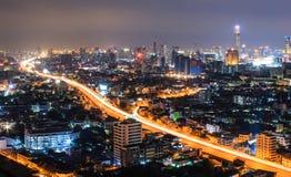 Stadtansicht in Bangkok stockfoto