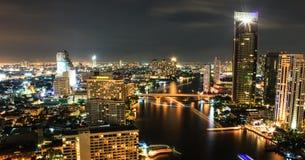 Stadtansicht in Bangkok lizenzfreies stockbild