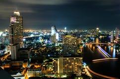 Stadtansicht in Bangkok stockbilder