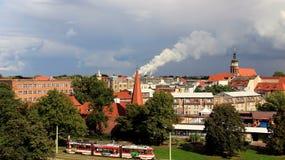 Stadtansicht der historischen alten Stadt in Deutschland lizenzfreie stockfotos