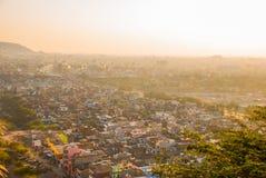 Stadtansicht Jaipur Indien Stockbild