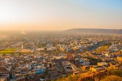 Stadtansicht Jaipur Indien Stockfoto