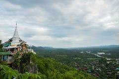 Stadtansicht am Tempel in Lamphun, Thailand stockfoto