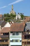 Stadtansicht von Argenton-sur-Creuse, Frankreich Lizenzfreie Stockbilder