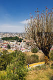 Stadtansicht von Cholula, Mexiko Stockfoto