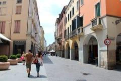 Stadtansicht von Padua, Italien Lizenzfreies Stockfoto