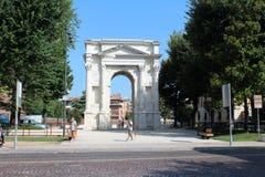 Stadtansicht von Verona, Italien Stockfotos