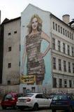 Stadtansichten von Budapest Stockbild