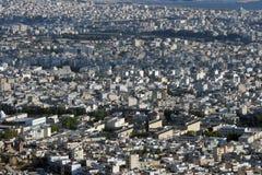 Stadtansichthintergrund Stockbild