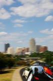 Stadtantreiben Stockfoto
