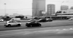Stadtautos Lizenzfreie Stockfotos