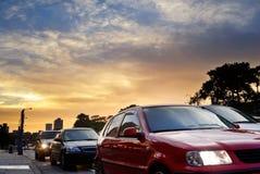 Stadtautostörung Lizenzfreie Stockbilder