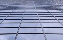Stadtbüro-Kontrollturmfassade Stockbild