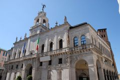 Stadtbezirk von Padua im Venetien (Italien) Stockbild