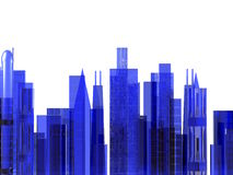 Stadtbild-Abbildung Stockbilder