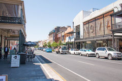 Stadtbild Adelaide, Australien Lizenzfreie Stockbilder