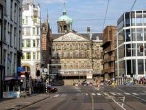 Stadtbild in Amsterdam Stockbilder