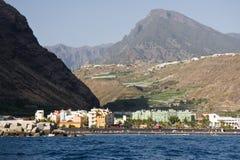 Stadtbild bei Puerto Tazacorte, La Palma lizenzfreie stockfotos