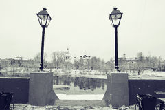 Stadtbild in der alten Stadt Lizenzfreie Stockfotografie