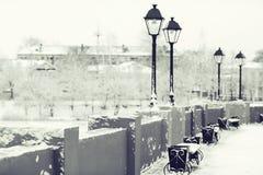 Stadtbild in der alten Stadt Lizenzfreie Stockbilder