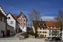 Stadtbild der Stadt von Braunlingen Schwarzwald Deutschland stockbilder