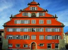 Stadtbild der Stadt von Lindau Schwarzwald Deutschland lizenzfreies stockfoto