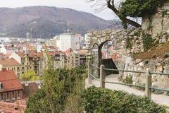 Stadtbild Graz Österreich Stockfotografie