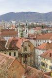 Stadtbild Graz Österreich Stockfotos