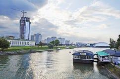 Stadtbild in Minsk Lizenzfreie Stockfotos