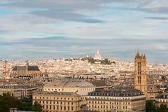 Stadtbild Mont Matre, Paris, Frankreich lizenzfreie stockfotos