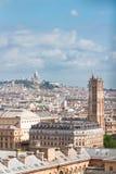 Stadtbild Mont Matre, Paris, Frankreich stockfotografie