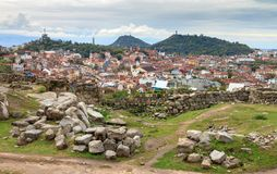 Stadtbild Nebet Tepe Stockfotografie