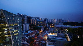 Stadtbild, Orchard02 stockfotografie