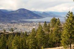 Stadtbild Penticton Kanada Lizenzfreie Stockbilder