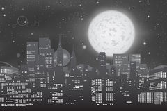Stadtbild-Skyline Lizenzfreie Stockbilder