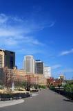 Stadtbild Str.-Paul Minnesota Lizenzfreie Stockfotos