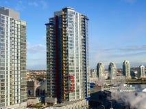Stadtbild Vancouver-Kanada Stockbild
