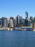 Stadtbild Vancouver-Kanada Stockfotografie
