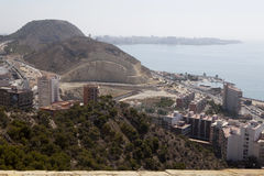 Stadtbild von Alicante, Stockfoto