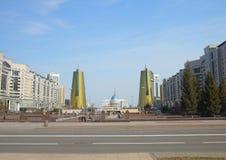 Stadtbild von Astana stockfoto