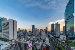 Stadtbild von Bangkok lizenzfreie stockbilder